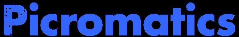 LOGO PICROMATICS BLUE 768x119